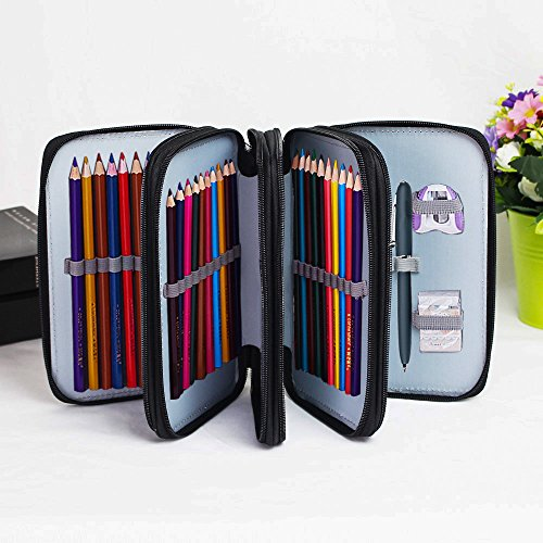 Pencil Pouch Capacity 4 Layer Students product image