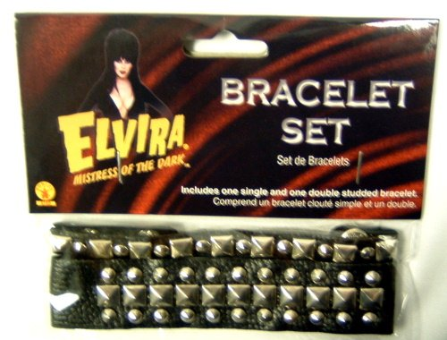 Elvira Mistress of the Dark Bracelet Set