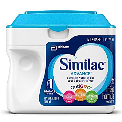 Similac Advance Infant Formula with Iron, Stage 1 Powder, 23.2 Ounces from Similac