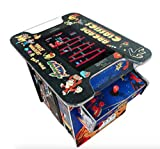 "AB INC. Exclusive Huge 22"" Screen !! NOT 19 INCH!! Cocktail Arcade Machine 412 Classic Games 150LB+ Commercial Grade"