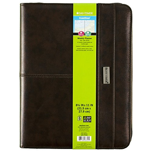 Day-Timer Coastlines Weekly Organizer 2016, 12 Months, Notebook Size, 8.5 x 11 Inches ()