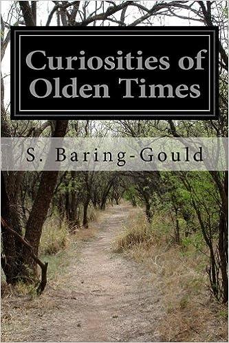 Book Curiosities of Olden Times