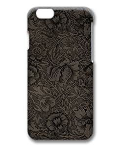 Custom Apple IPhone 6 Case Amazing 0091500 dark flowers case for iphone 6 47 3d pc material IPhone 6S Skin