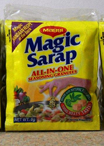 5 PACKS Maggi Magic Sarap Philippines All-in-One Seasoning Granules (12PCS/PACK) by Nestle, Inc. (Image #1)