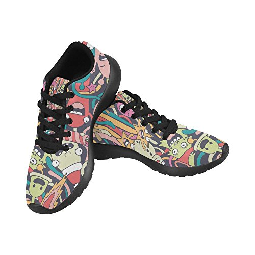 Scarpa Da Jogging Leggera Da Donna Running Jogging Leggera Easy Go Walking Comfort Sportivo Scarpe Da Ginnastica Multi 8