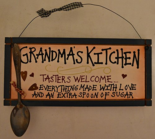 Rustic Country Wood Plaque Sign Decoration