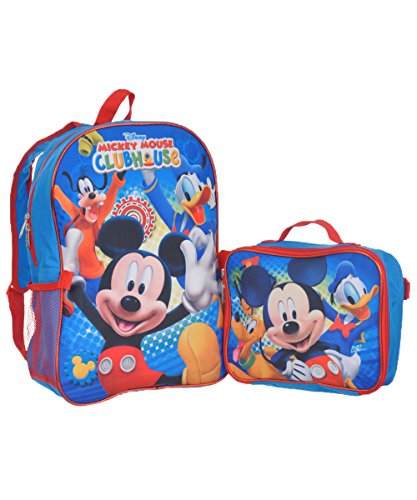 Mickey Mouse Clubhouse Backpack Lunchbox