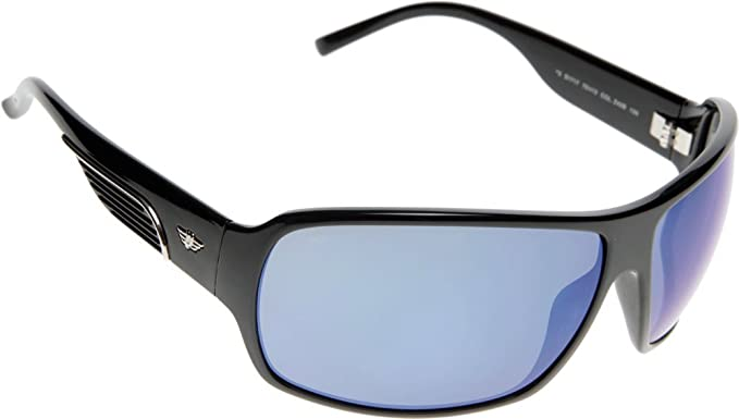 Amazon.com: Police Sunglasses S 1717 Z42B Acetate Black Grey ...