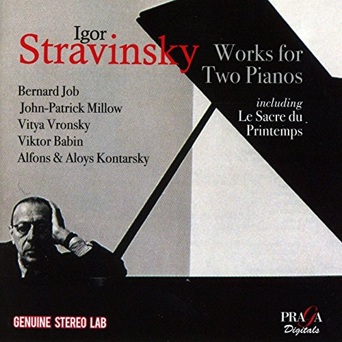 Stravinsky: Works for 2 Pianos
