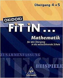 Okidoki Fit In Okidoki Fit In Mathematik Für Den übergang