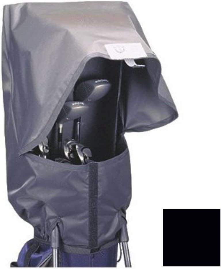 Seaforth Rain Gear SeaForth Waterproof Rain Hood Cover for Golf Bags, Black
