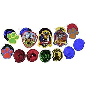 Amscan Paw Patrol Swirl Decorations