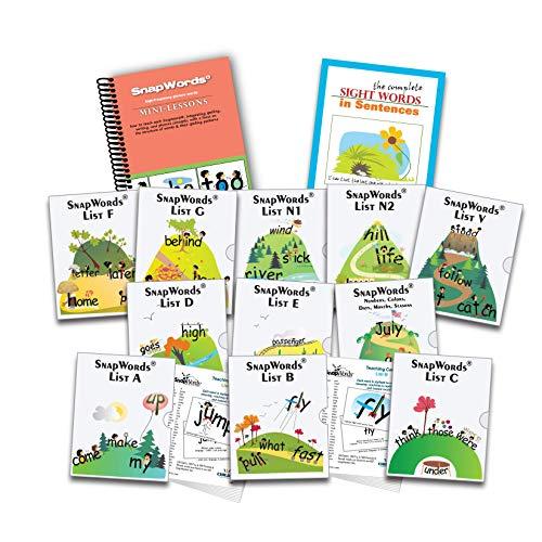 (607 SnapWords Teaching Cards)