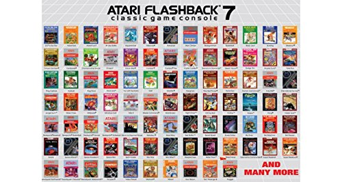 Amazon Com At Games Atari Flashback 7 Classic Game Console White Video Games