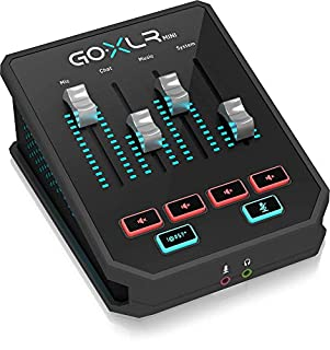 GoXLR Mini - Mixer & USB Audio Interface for Streamers, Gamers & Podcasters (B07XH41DLN) | Amazon price tracker / tracking, Amazon price history charts, Amazon price watches, Amazon price drop alerts