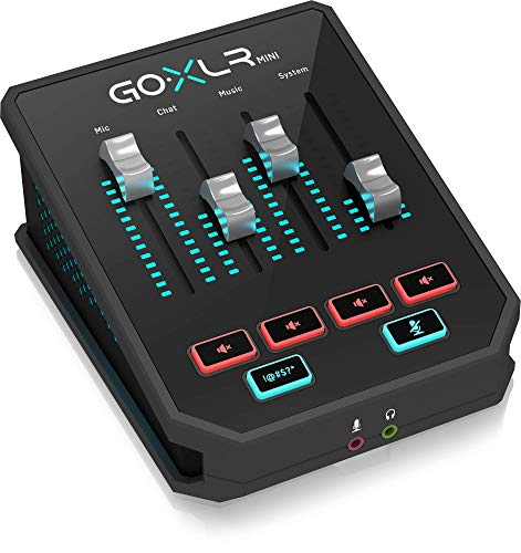 GoXLR Mini - Mixer & USB Audio