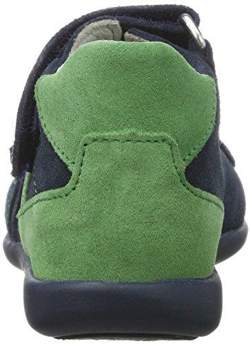 Däumling Kurti - Botas de senderismo Bebé-Niños Blau (Turino jeans46)
