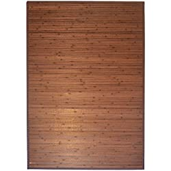 3' X 5' Bamboo Floor Rug - Item # 89-135D ( Dark Brown)