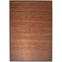 3 X 5 Bamboo Floor Rug - Item # 89-135D ( Dark Brown)
