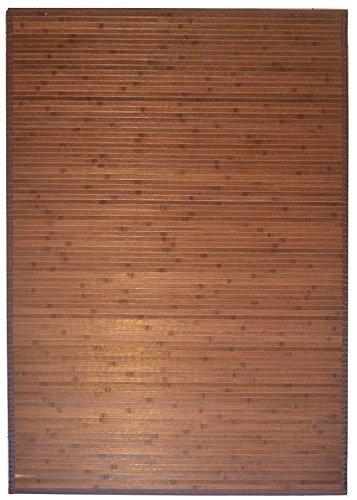 3' X 5' Bamboo Floor Rug - Item # 89-135D ( Dark Brown)