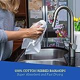 Bar Mops Kitchen Towel Ribbed 12 Pack