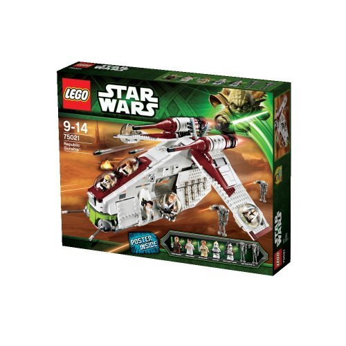 LEGO Star Wars Republic Gunship From Episode II - Lego Star Wars Clone Gunship