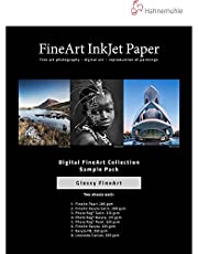 Hahnemuhle FineArt Glossy Inkjet Paper Sample Pack (8.5 x 11 In, 14 Sheets)