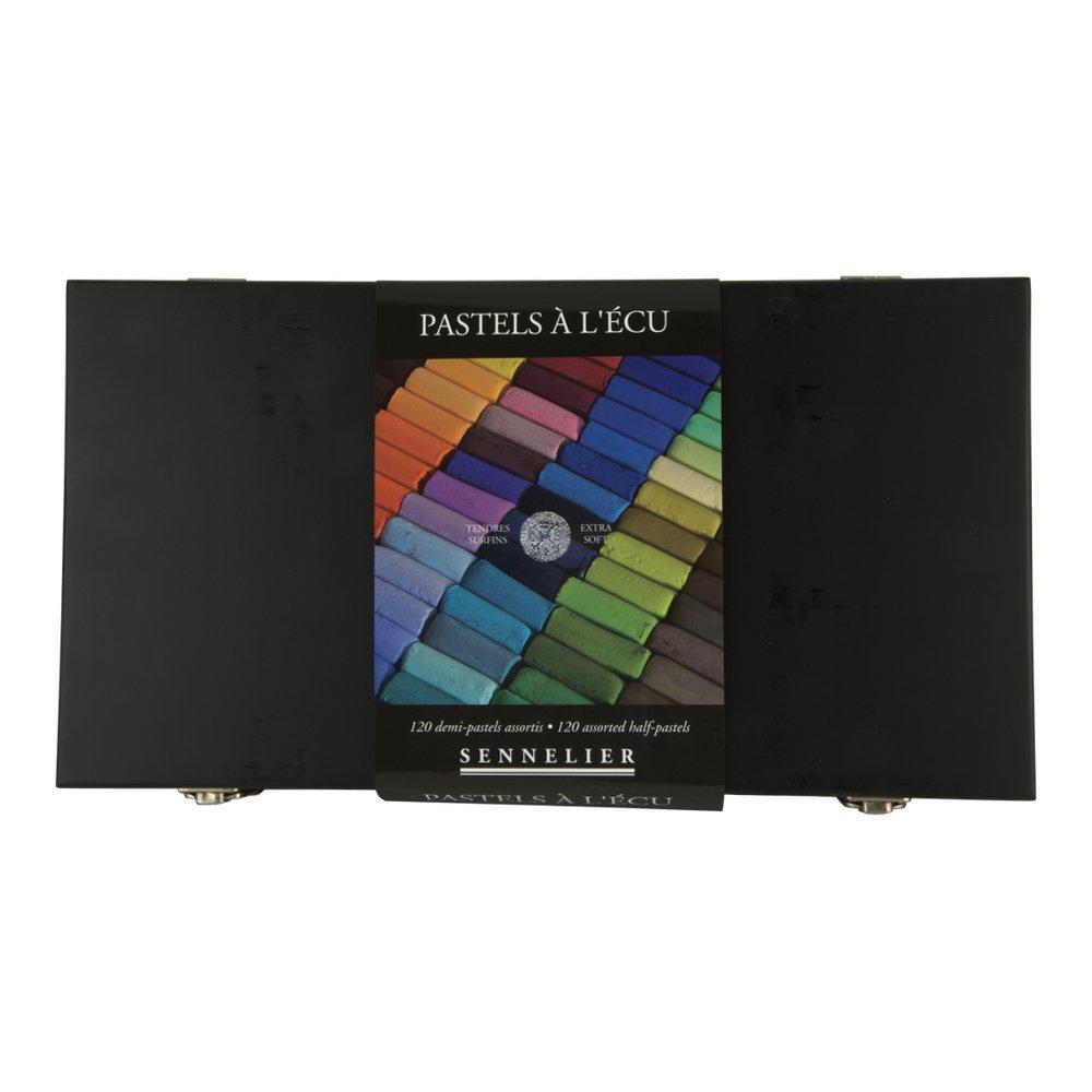 Sennelier Black Box Half Soft Pastel Box 120 SAVOIR-FAIRE 10-132272