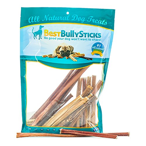 Thin Bully Stick Treats Grab product image