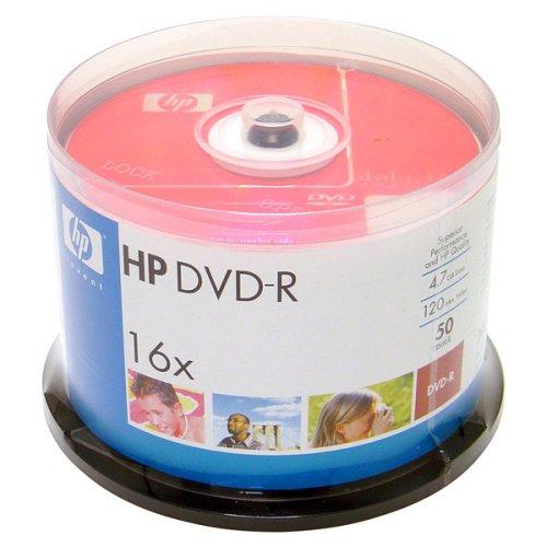 Hewlett Packard 16X 50/Pack 4.7GB DVD-R (Discontinued by Manufacturer)