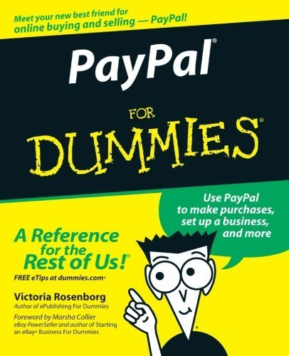 PayPal For Dummies 1st (first) by Rosenborg, Victoria (2005) Paperback
