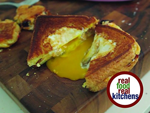 Real Food Real Kitchens - Southern Style Pimento Grilled Cheese
