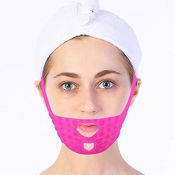 Facial Lifting Firming abnehmen Maske, Massage Gesicht Silikon Bandage V-Linie Maske Hals Kompression Doppelkinn, ändern dopp