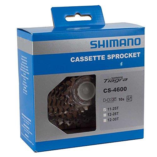 Shimano CS-4600 2011 Tiagra 10-Speed Road Bicycle Cassette (11-25T) -  689228681057