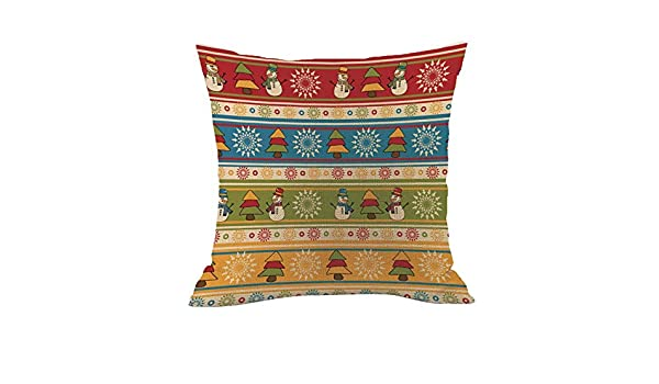 Reooly Merry Christmas Pillow Case - Juego de Cojines de ...