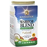 Sunwarrior - Warrior Blend, Raw, Plant-Based Protein, Natural, 40 Servings (2.2 lbs) (FFP)