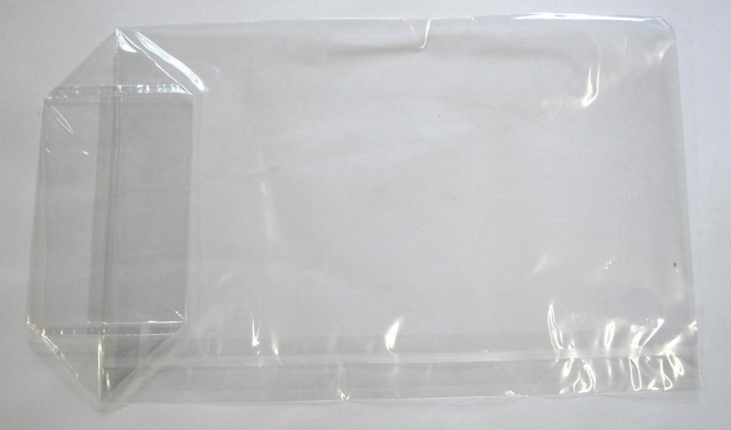 Bodentüte Kunststoff PP mit Boden ähnlich Cellophan 12x22,5cm (1000St.)