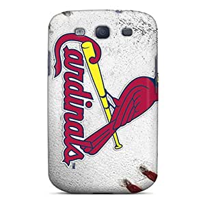 Premium Tpu St. Louis Cardinals Cover Skin For Galaxy S3