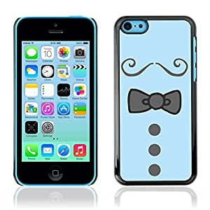 Graphic4You Bowtie Men Shirt Fashion Design Hard Case Cover for Apple iPhone 5C
