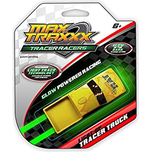 Max Traxxx Gravity Drive Tracer Racers Truck for Non Remote Control Racing Sets - Assorted Colors
