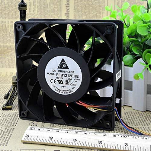 Cytom for Delta Fan 3A Violent Fan 12cm Fan FFB1212EHE 12V I Mine Fan 3.0A