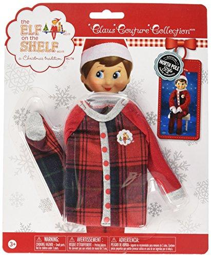- Elf on The Shelf Claus Couture FA-La-La Footies Pajamas Set