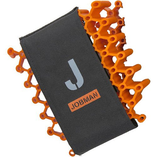 Jobman Kniepolster'GP Advanced', 1 Stü ck, Einheitsgrö ß e, orange/grau, 994784-3098-0