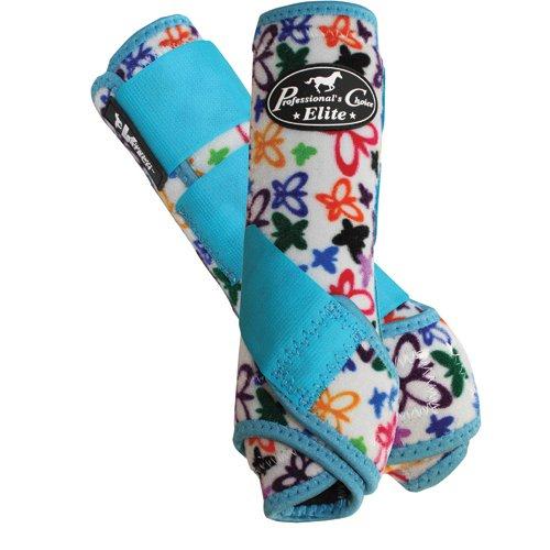 Professional's Choice Equine Sports Medicine Ventech Elite Leg Boot Value Pack, Set of 4 B004S0MEZM Medium|Butterfly