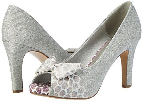 948 Women's Heels Open toe 29300 Comb Tamaris silver Silver I87xPIq
