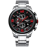 Men's Luxury Watches Chronograph Water...