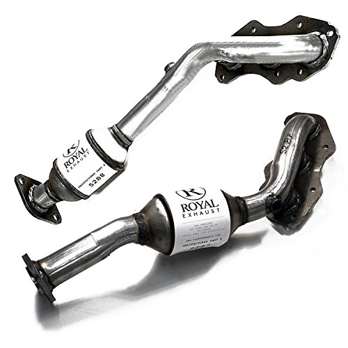 (Catalytic Converter 2Piece Bundle compatible with 2006 Lexus GS300 AWD 3.0L | 2006-2008 IS250 RWD 2.5L | Right+Left Side Manifold)