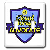 Dooni Designs – Funny Sarcastic Advocate Designs - Cloud Storage Advocate Support Design - Light Switch Covers - double toggle switch (lsp_242554_2)
