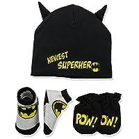 Juego para llevar de Batman para niños de DC Comics para bebés, negro, 0-3 meses