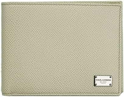 Dolce & Gabbana Men's Ivory Bi-fold Wallet Bp0437 A1001 80005
